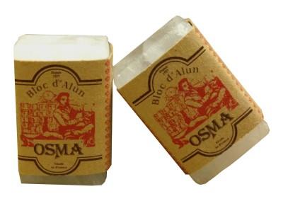 Blosma -pierre d'alun -blosma - shaving - alum stone