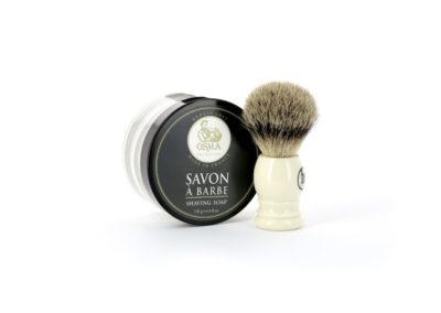 Savon a barbe et blaireau-1